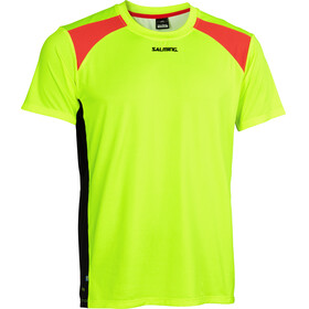 Salming Challenge Running T-shirt Men yellow/black